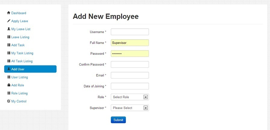 Employeebook Employee Management System By Codingexperts