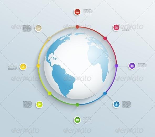 GraphicRiver Circular Timeline 7949225
