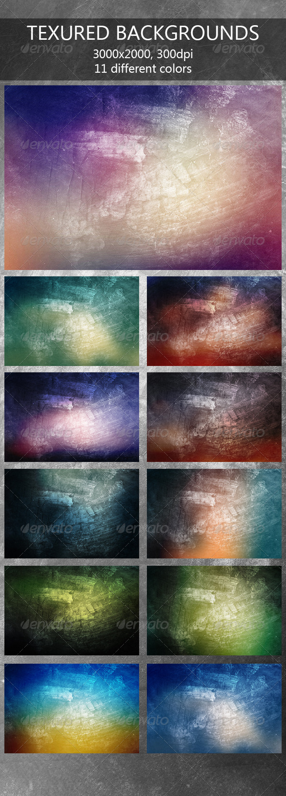 GraphicRiver Textured Backgrounds 7958130