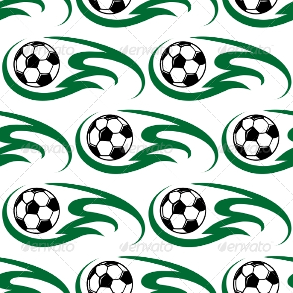 GraphicRiver Soccer Ball Seamless Pattern 7958484