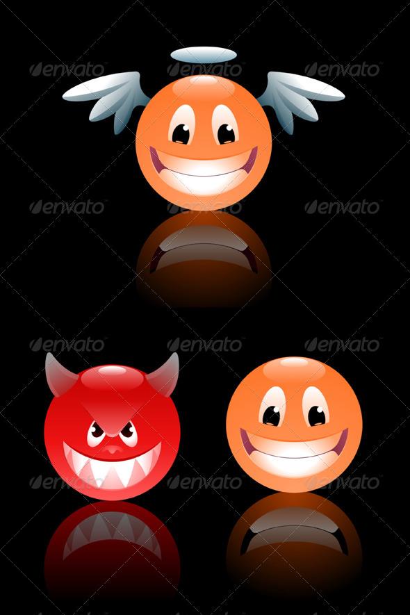GraphicRiver Smileys 7958489