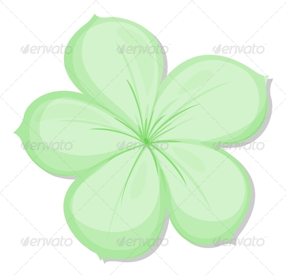 GraphicRiver Green Flower 7958874