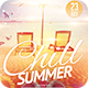 Chill Summer Flyer - GraphicRiver Item for Sale