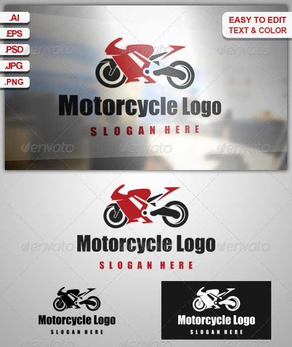 GraphicRiver Motorcycle Logo 7959497