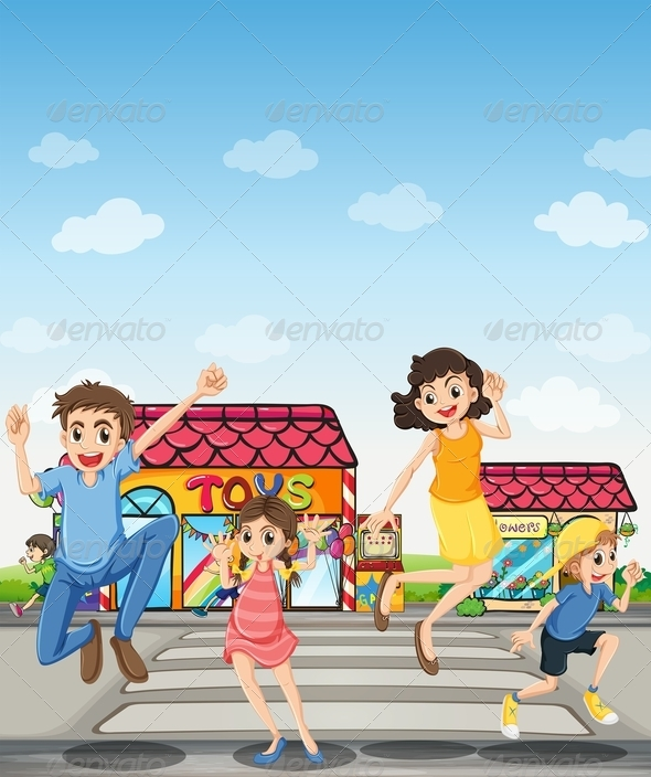 GraphicRiver Happy Family 7959911