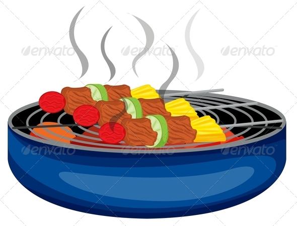 GraphicRiver Barbecue Grill 7959918