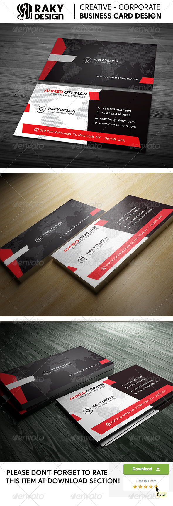 GraphicRiver Comunication Stylish Corporate Business Card 21 7960212