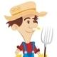 Happy Farmer - GraphicRiver Item for Sale