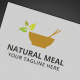 Natural Meal Logo - GraphicRiver Item for Sale