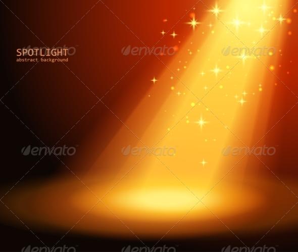 GraphicRiver Magic Light Background 7960399