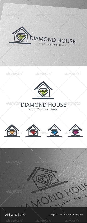 GraphicRiver Diamond House Logo 7960653