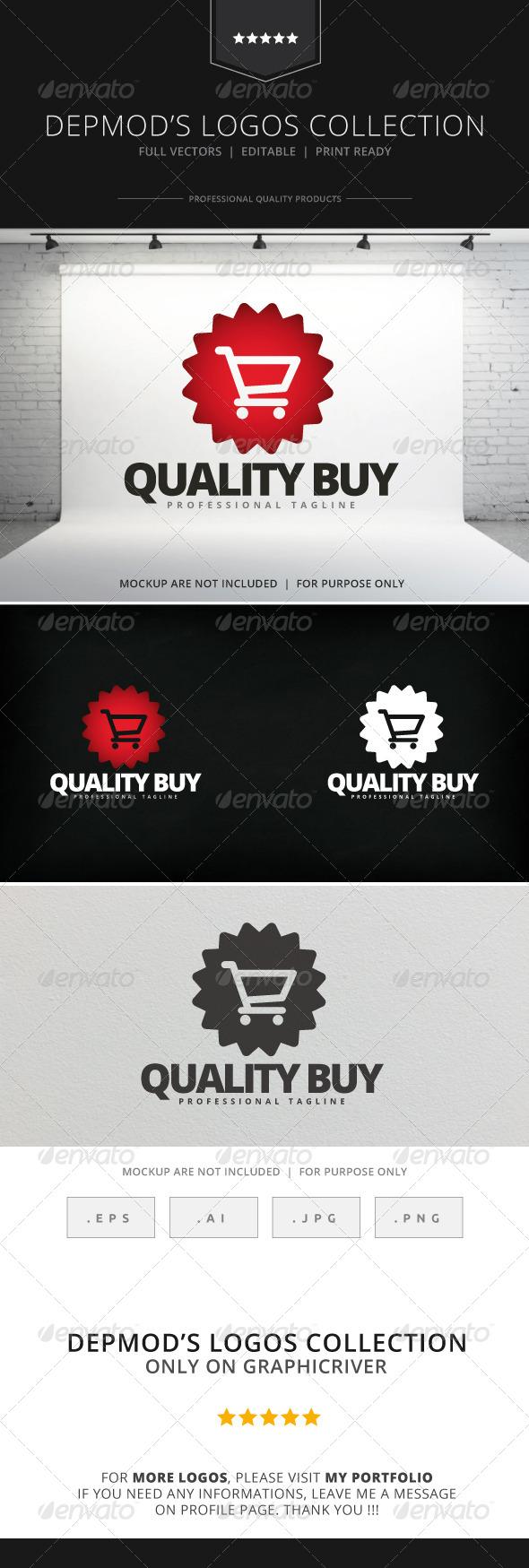 GraphicRiver Quality Buy Logo 7960817