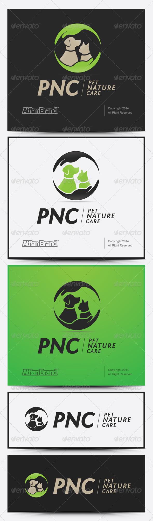 GraphicRiver Nature Pet Logo 7960931