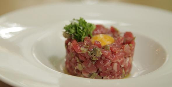 Steak Tartare For Top Restaurant