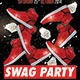 Swag Hip Hop Party PSD Flyer Template - GraphicRiver Item for Sale
