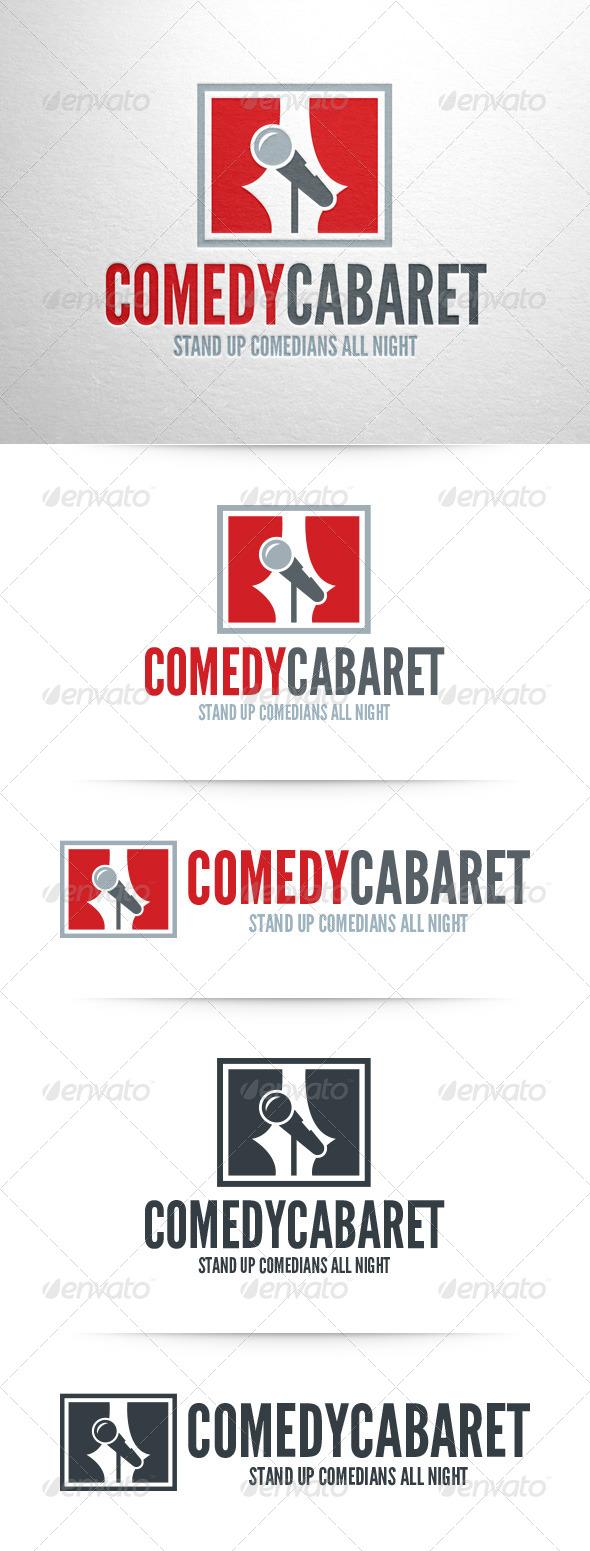 Comedy Cabaret Logo Template