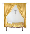Isolated Bed Nun - PhotoDune Item for Sale