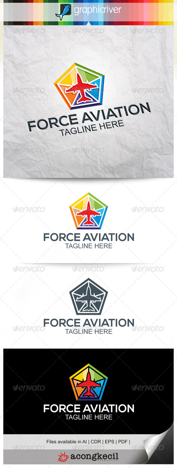 GraphicRiver Force Aviation V.4 7962534