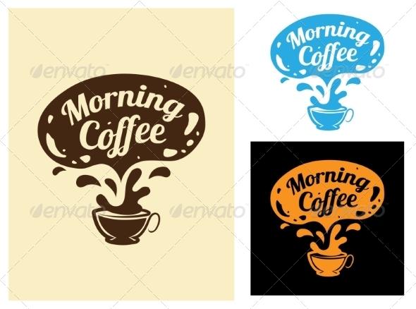 GraphicRiver Morning Coffee Icon 7962562
