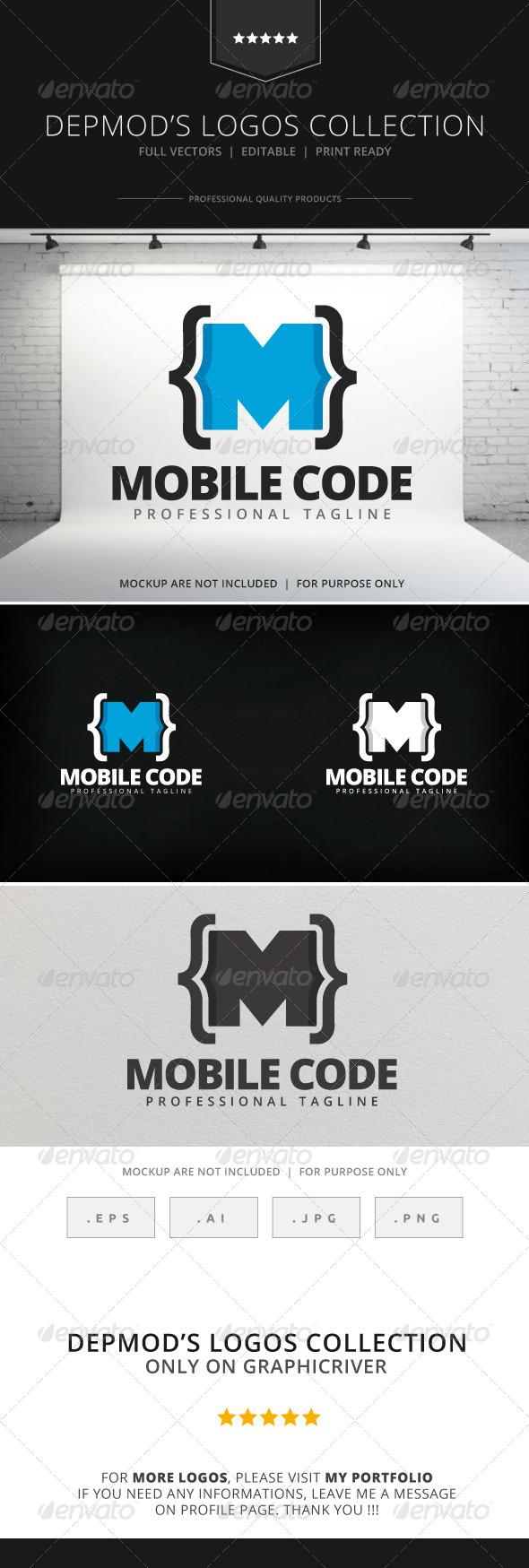GraphicRiver Mobile Code Logo 7962580