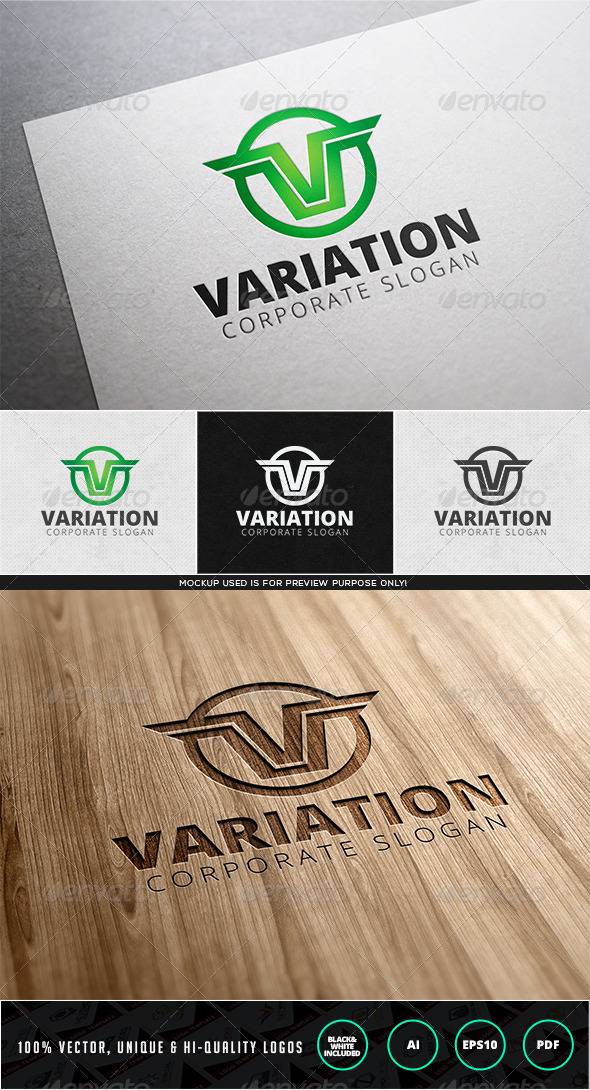 GraphicRiver Variation Logo Template 7962612