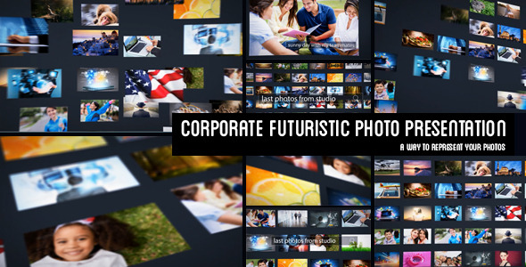 Corporate Futuristic Photo Presentation
