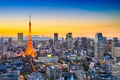 Tokyo Japan City Skyline - PhotoDune Item for Sale