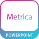 Metrica Presentation PowerPoint Template - GraphicRiver Item for Sale