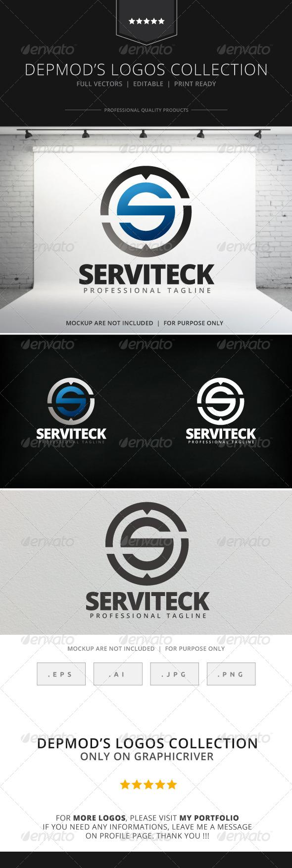 GraphicRiver Serviteck Logo 7963268