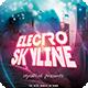 Electro Skyline Flyer - GraphicRiver Item for Sale