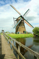 Windmill and the wooden bridge - PhotoDune Item for Sale