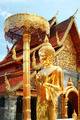 The golden buddha staue and temple - PhotoDune Item for Sale