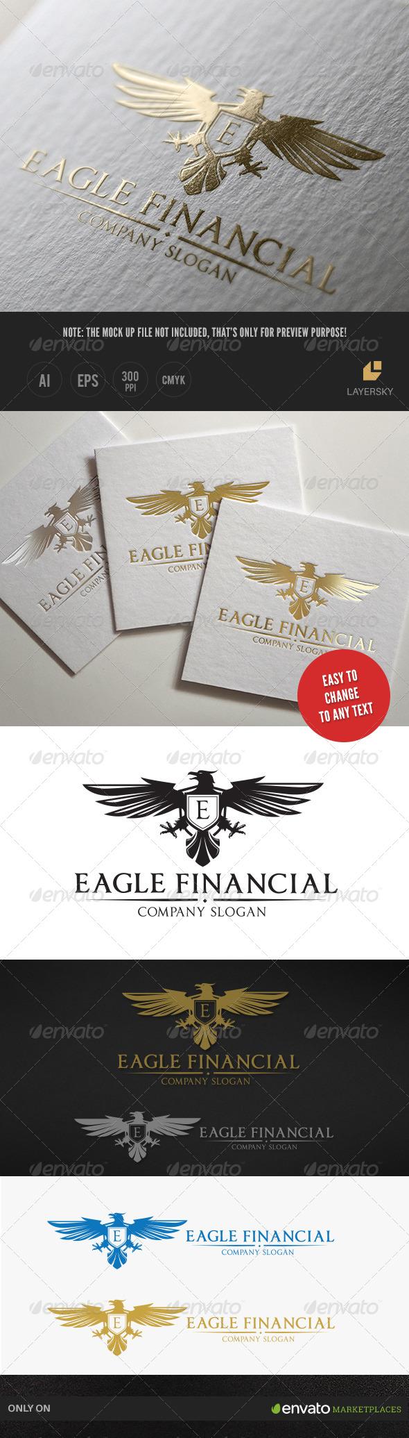 GraphicRiver Eagle Financial Logo 7964106