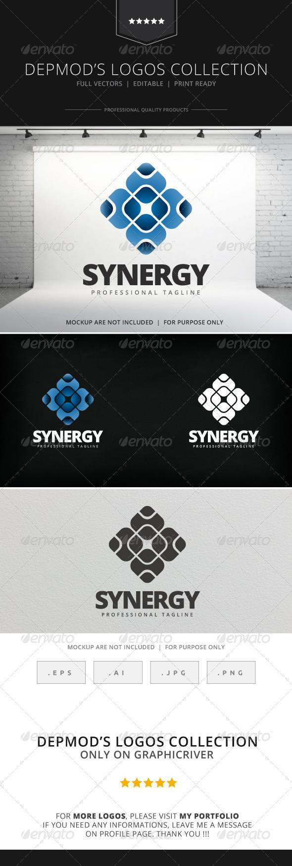 GraphicRiver Synergy Logo 7964465