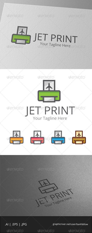 GraphicRiver Jet Print Logo 7964586