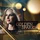 Golden Sparks - VideoHive Item for Sale