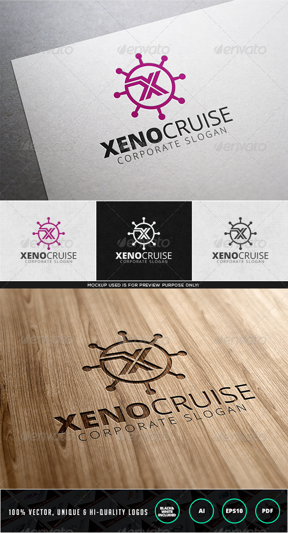 GraphicRiver Xeno Cruise Logo Template 7965010