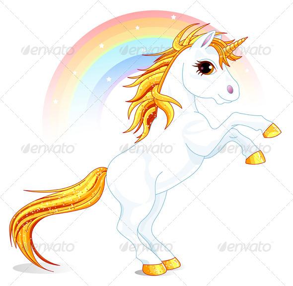 GraphicRiver Unicorn 7965635
