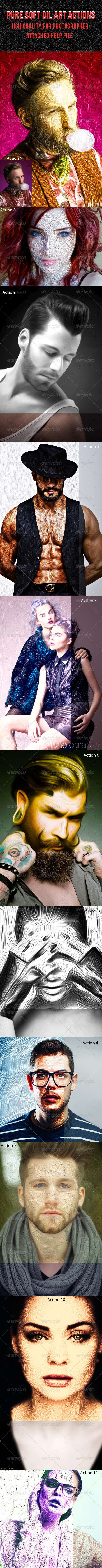 GraphicRiver Pure Soft Oil Art Actions 7965685