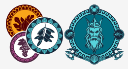 Badges, Logos and Emblems