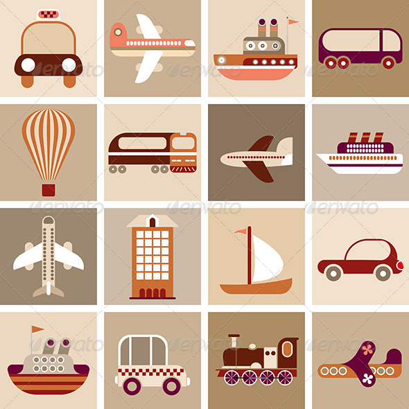 GraphicRiver Travel and Transportation 7966211
