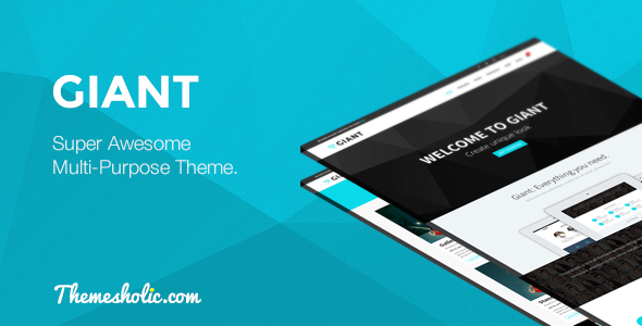 ThemeForest Giant Super Awesome Multi-Purpose Theme 7909011