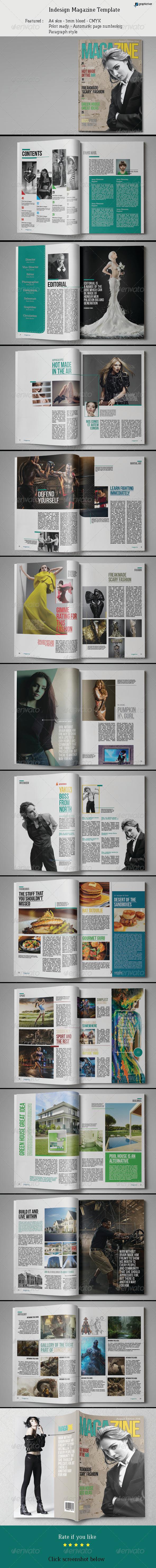 GraphicRiver Indesign Magazine Template 03 7967461