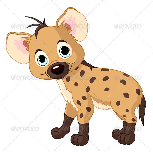 GraphicRiver Baby Hyena 7968092