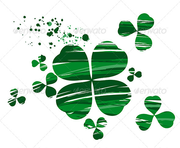 GraphicRiver Clover with Paint 7968484