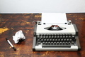 Vintage Travel Typewriter - PhotoDune Item for Sale
