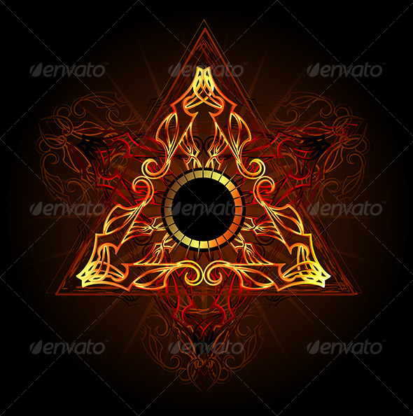 GraphicRiver Fire Symbol 7968754