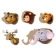 Five Stuffed Heads of Animals - GraphicRiver Item for Sale