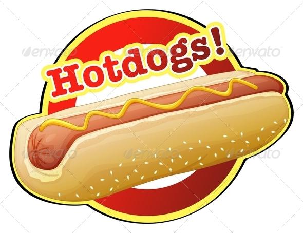 GraphicRiver A Hotdog Label 7968824
