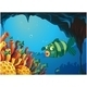 School of Stripe-Colored Fishes Under the Sea - GraphicRiver Item for Sale